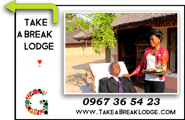 Billboard Take a Break Lodge