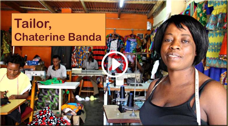 Tailor & Designer, Catherine Banda