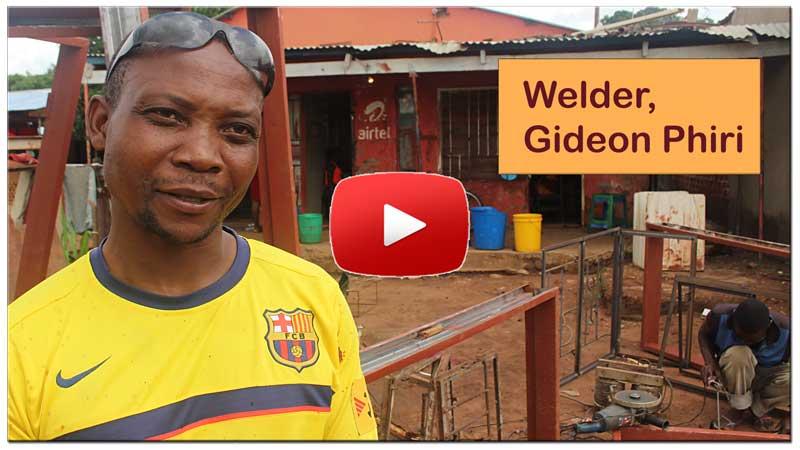 Gideon -welder