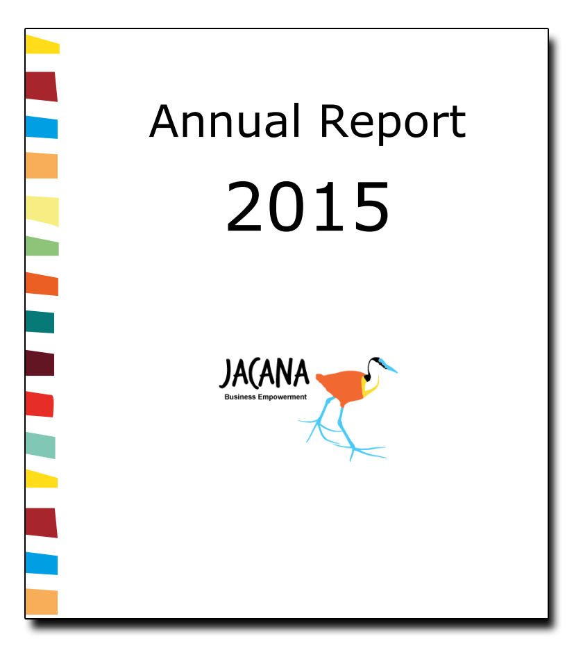 Annual report 2015 Jacana