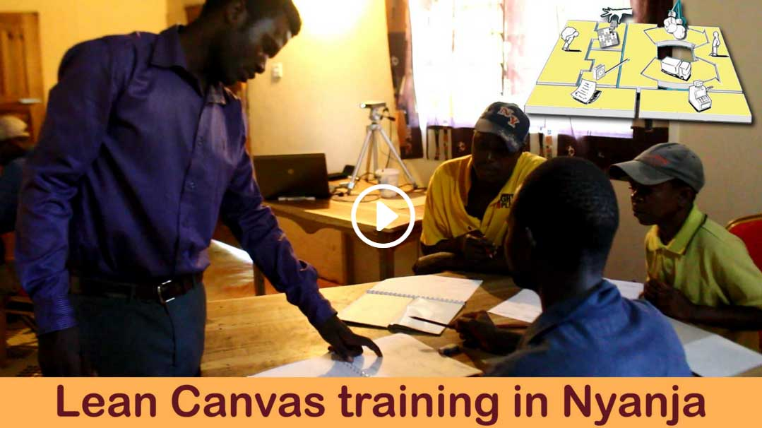 Lean Canvas in Nyanja