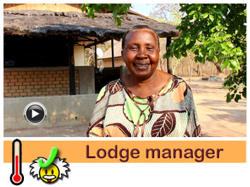 Lodge manager Hida