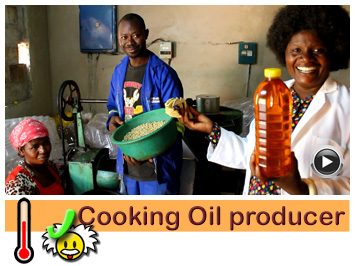 Cooking oil producer, Mrs Simunji