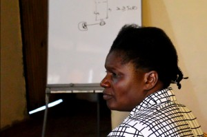 Wamunyima in training