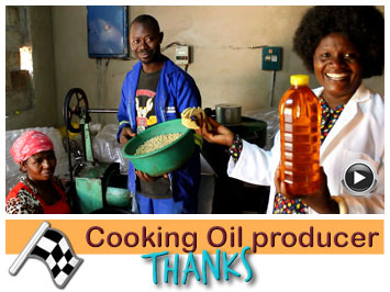 Cooking Oil producer in Africa  expanse her business