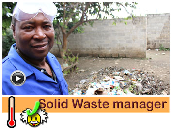 Joel, Solid Waste manager | Jacana Business Empowerment