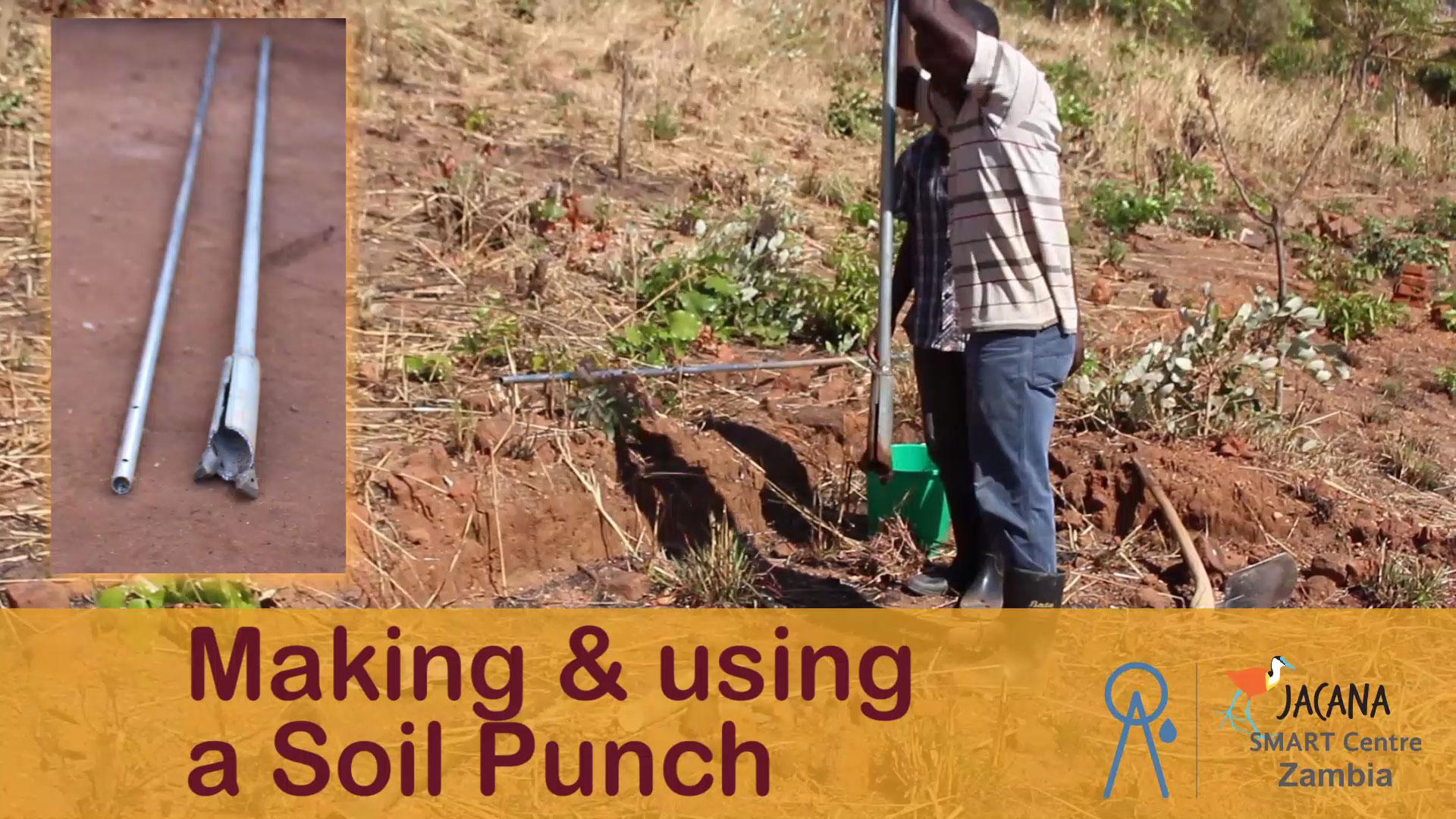 Making a Soil punch