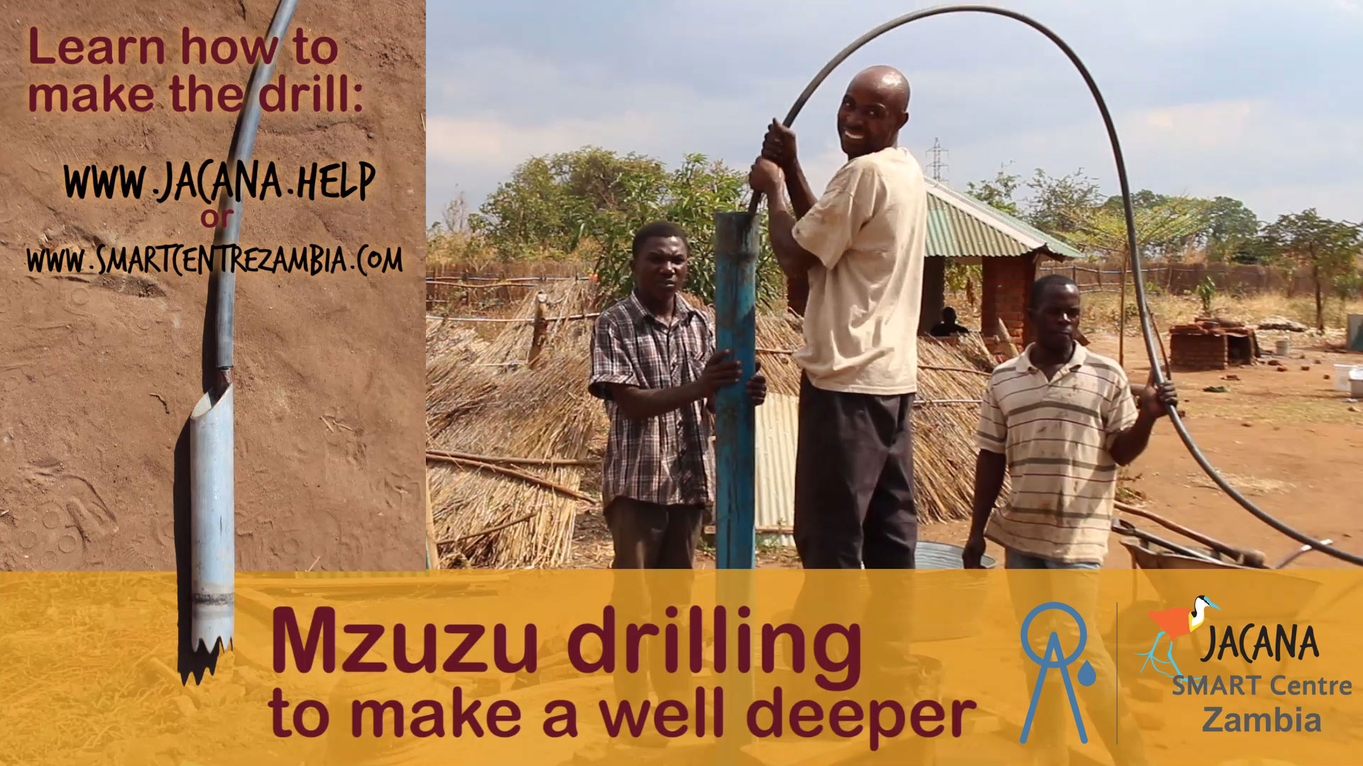 Muzuz drilling, making a well deeper