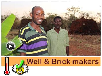 026 Well digger & brick maker, Mozes and Osward