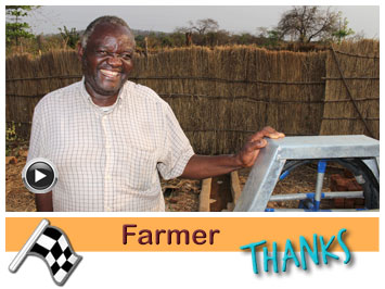027 Farmer Mackson Sakala supported with water