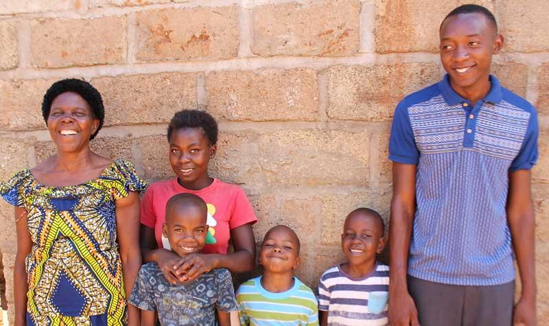 Family Bernatette Phiri
