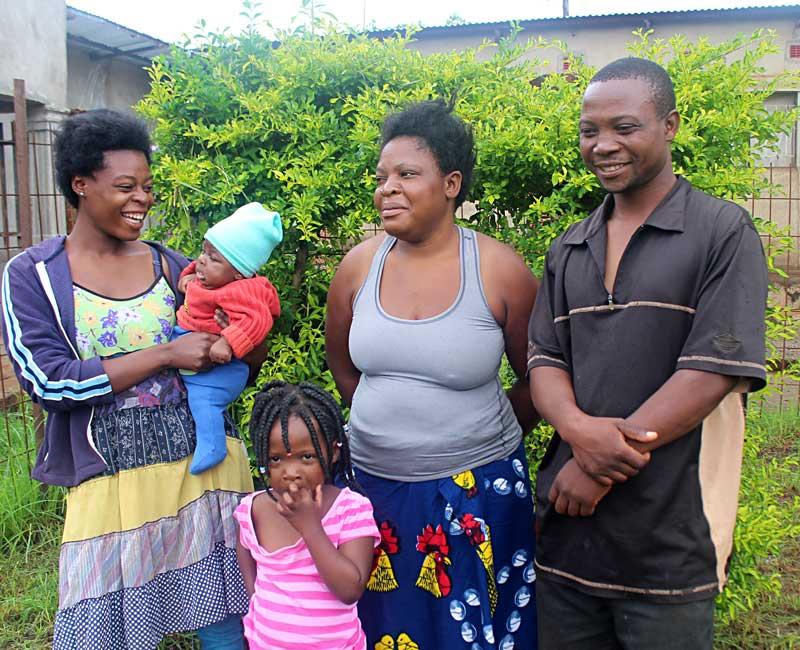 Gideon Phiri's family