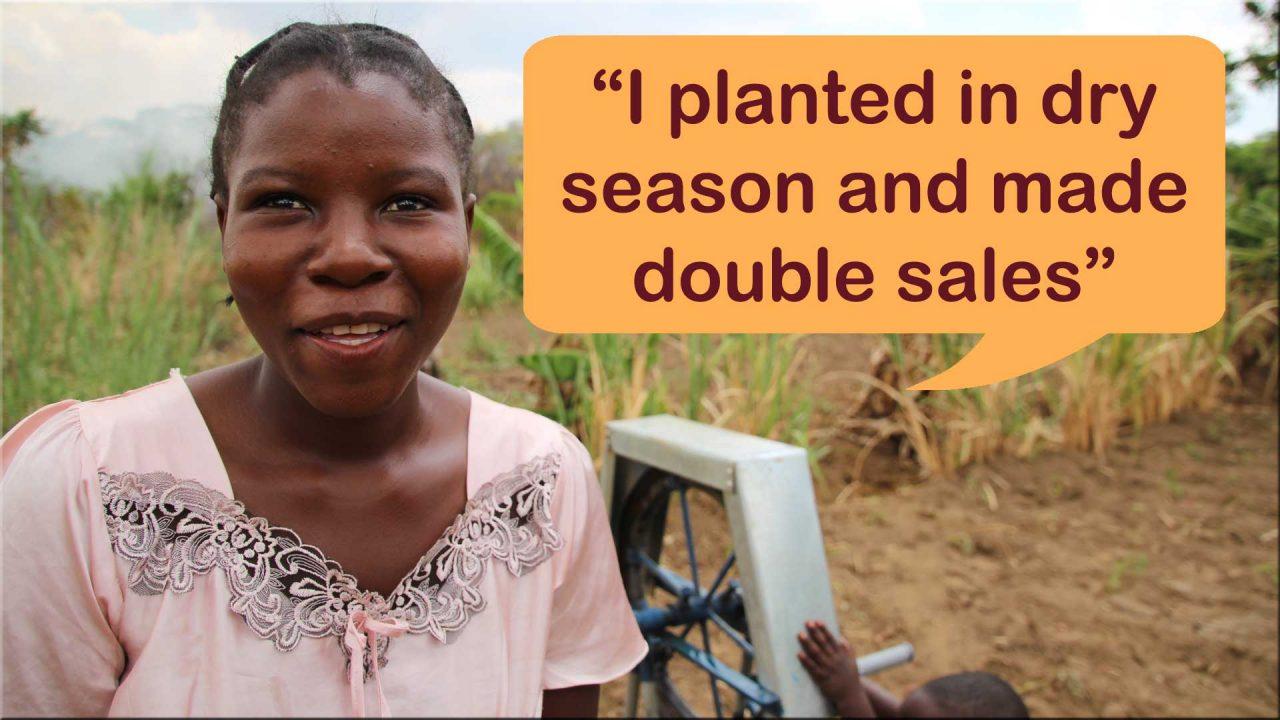 Uveren Gapi Doubled her sales