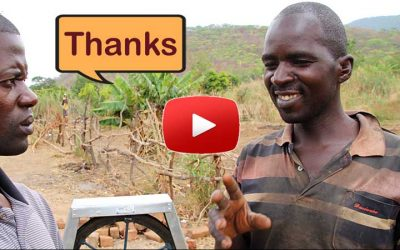 Deaf farmer Joshua will never lose a harvest because of drought again.