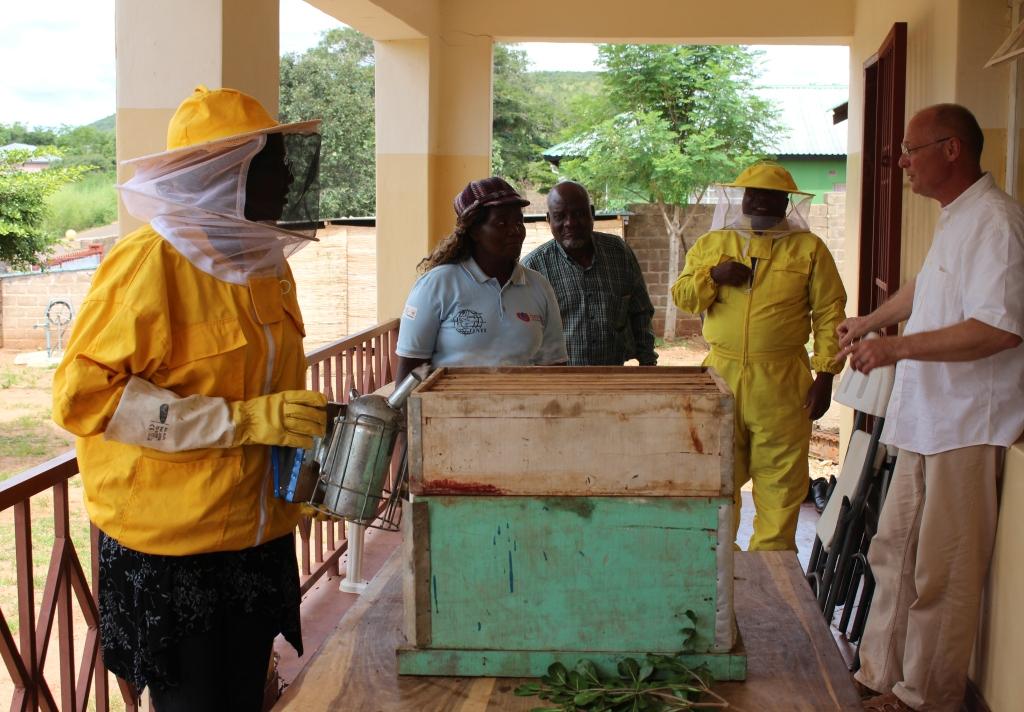 Bridget beekeeper