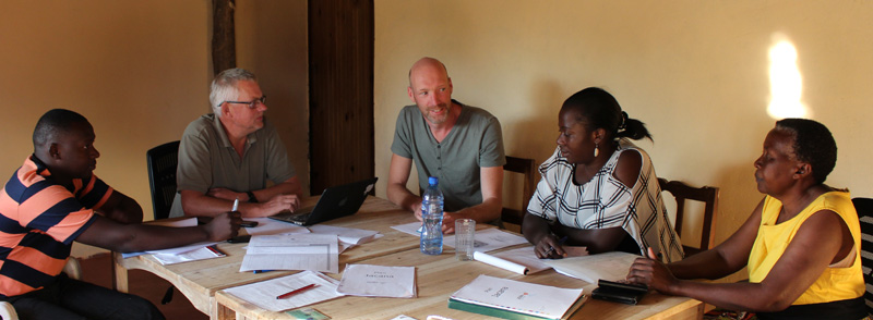 First Board Meeting Jacana Zambia