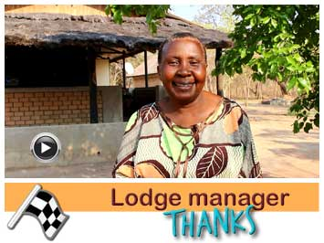 African Lodge Manager expanded her business