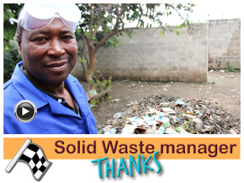 Solid Waste manager, Joel expanded in Recycling