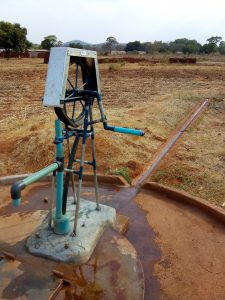 Pump at Chief Chinyaku