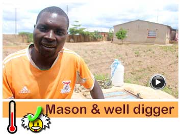 039 Well digger and mason, Micheal Soko