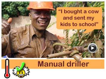 040 Well digger and mason, Edward Tembo