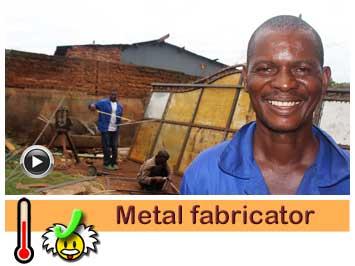 041 Metal fabricator, Moses Mawele