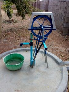 Jacana demonstration pump