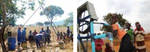 Drilling and Pump at Simbani