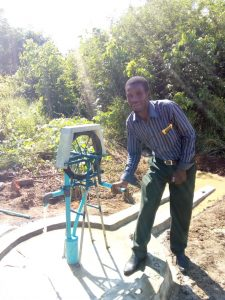 Private pump in Mfuwe