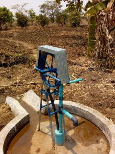 Pump at garden of Chief Msholo