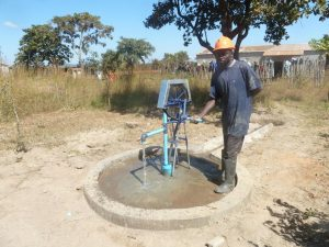 Pump at Hastings Mbewe