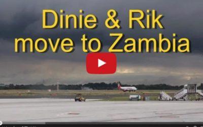 Arrival in Zambia