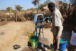 Pump at Thomas Phiri