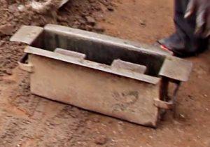 Cement block mould