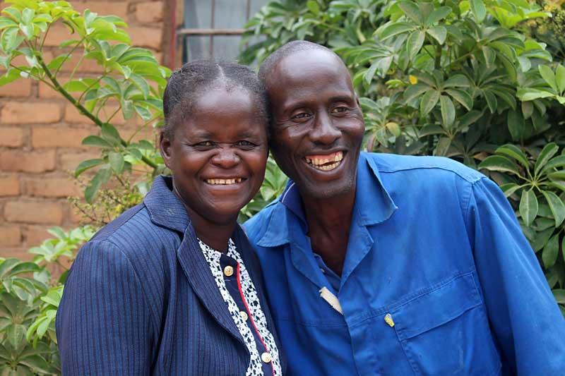 Bernadette and her husband