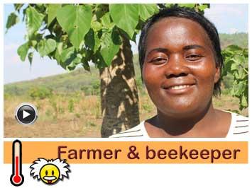 057 Farmer and beekeeper Maria