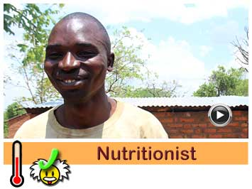 069 Nutritionist, Aseli Nkhoma