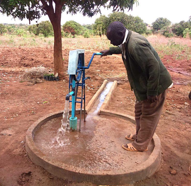 Evans Banda's pump