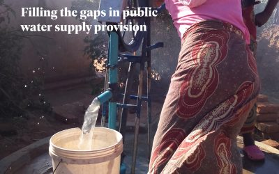 Book on Self-supply Filling the gaps in public water supply provision