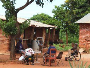 Pump at Martha Banda's yard